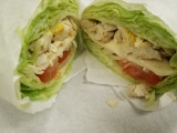 GRILLED CHICKEN LETTUCE WRAP  thumbnail